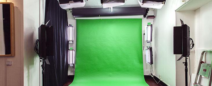 studio fond vert LT